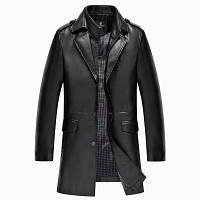 Мужская кожаная куртка. Модель 2022, фото 5