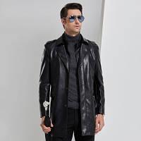 Мужская кожаная куртка. Модель 2022, фото 6