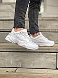 Женские кроссовки Nike Tekno M2K в стиле найк м2к БЕЛЫЕ (Реплика ААА+), фото 2