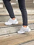 Женские кроссовки Nike Tekno M2K в стиле найк м2к БЕЛЫЕ (Реплика ААА+), фото 3