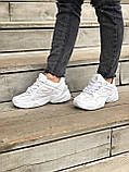 Женские кроссовки Nike Tekno M2K в стиле найк м2к БЕЛЫЕ (Реплика ААА+), фото 5