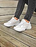 Женские кроссовки Nike Tekno M2K в стиле найк м2к БЕЛЫЕ (Реплика ААА+), фото 6