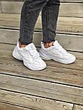 Женские кроссовки Nike Tekno M2K в стиле найк м2к БЕЛЫЕ (Реплика ААА+), фото 7