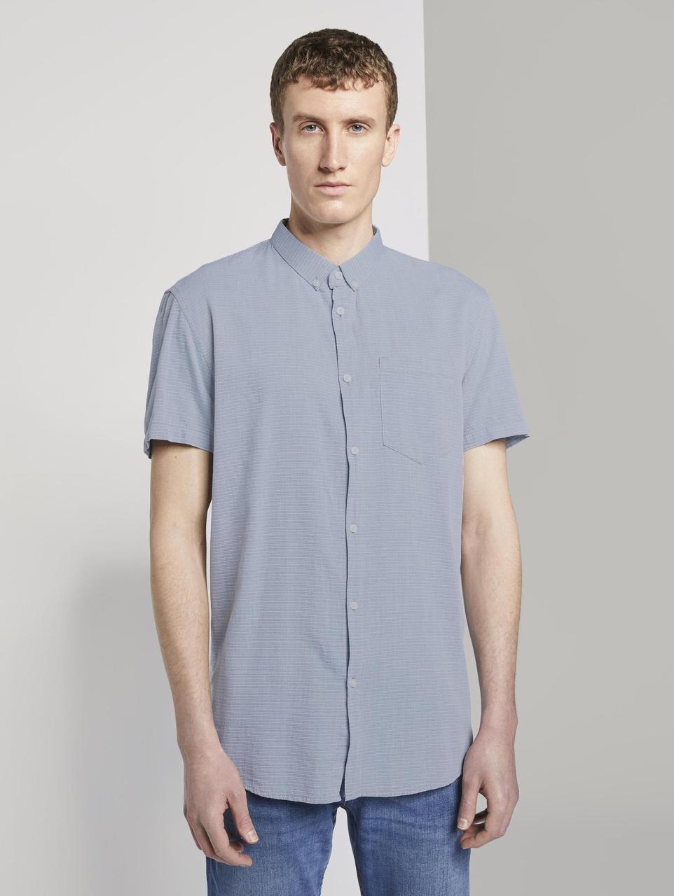Рубашка Tom Tailor 1018581 S Светло-серый