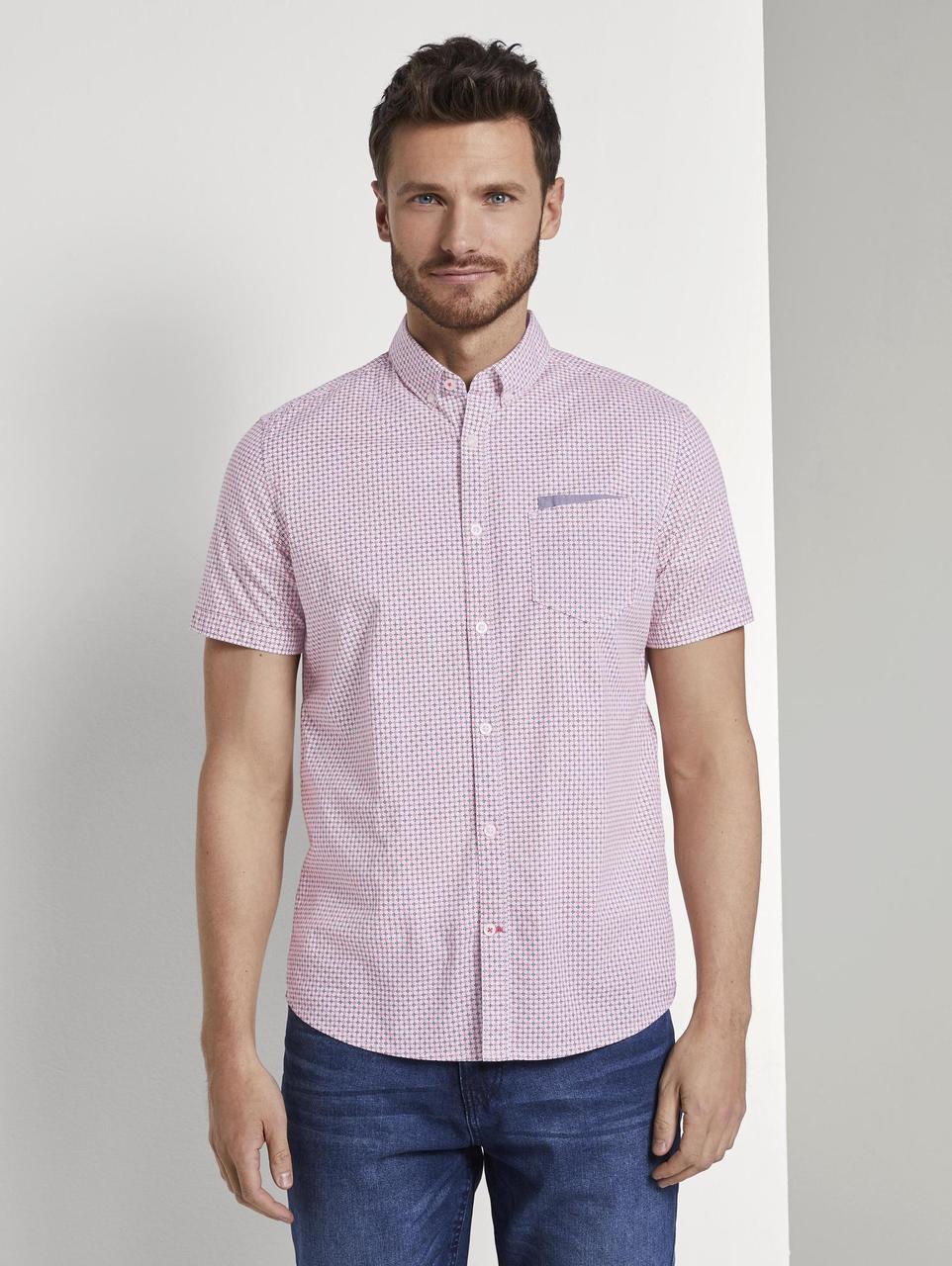 Рубашка Tom Tailor 1017176 M Розовый
