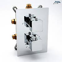 Термостатичний змішувач для прихованого монтажу KVTB-03.