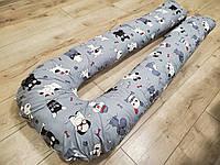 Подушка для беременных U-образная обнимашка Подкова 160см, много цветов