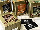 Шоколадный трюфель с фундуком Maitre Truffout Truffles Haselnut (с орехом), 200г, конфеты в коробке, фото 3