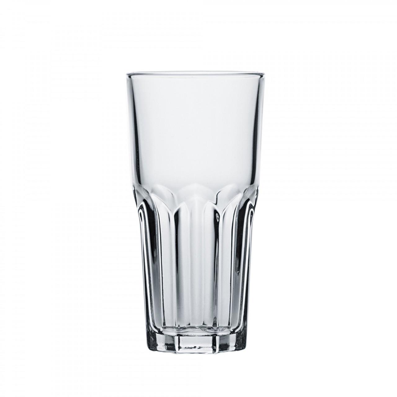 """Стакан высокий стеклянный с гранями Arcoroc """"Гранит"""" 200 мл (J3281)"""