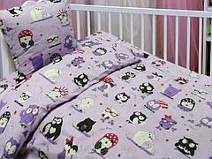 Комплект постельного белья в кроватку Leleka-textile детский ранфорс арт.БД-67