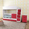 Дитяче ліжко для двох дітей: для новонародженого, і дорослого ДМ 702