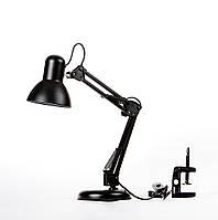 Лампа настольная трансформер на струбцине SWT-2811 BK