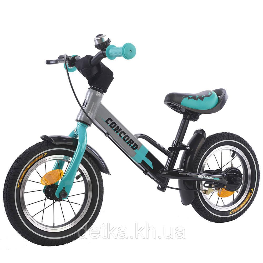 """Беговел (велобег) BALANCE TILLY 12"""" Concord T-212510 , цвета в ассортименте Azure"""