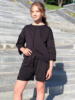 Трикотажный костюм с шортами в разных расцветках ТМ Татьяна Филатова