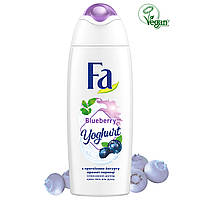 "Гель для душа ""Черника"" Fa Yoghurt Blueberry Shower Gel 250 мл"