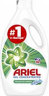 Гель для стирки белого белья Ariel Горный Родник 2.2 л 40 стир, фото 1