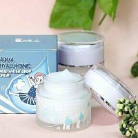 Увлажняющий гиалуроновый крем Elizavecca Aqua Hyaluronic Acid Water Drop Cream 50ml