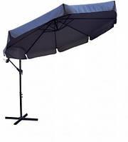 Садовый зонт большой темно-синий 300 см Furnide Польша