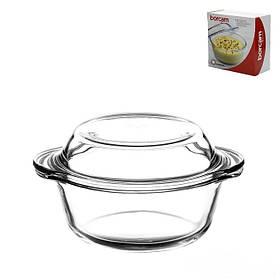 Кастрюля для духовки из жаропрочного стекла Pasabahce Borcam 800 мл (59033)