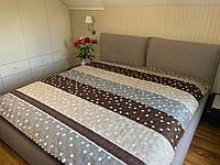 """""""Горошек"""" Летнее одеяло покрывало двуспальный размер 175/205"""