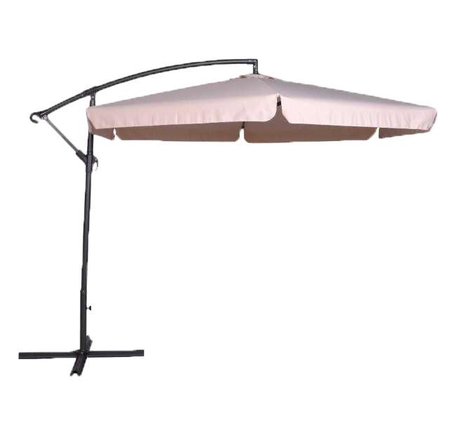 Садовый зонт большой бежевый 300 см Furnide Польша