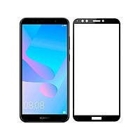 Захисне скло Glass Huawei Y6 Prime 2018 ATU-L31 Full Glue black