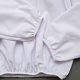 Блузка з довгим рукавом SmileTime Susie з гіпюром, білий, фото 4