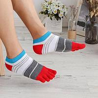 Носки с пальцами мужские Веселые JAMMZA 41-43