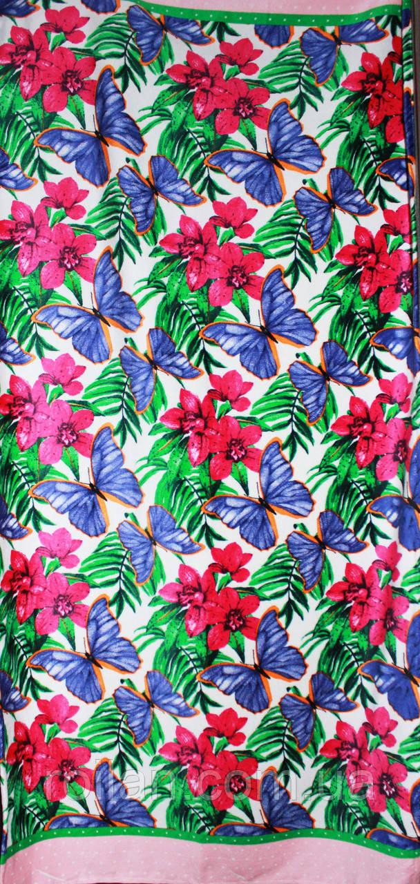 Пляжное полотенце Бабочки