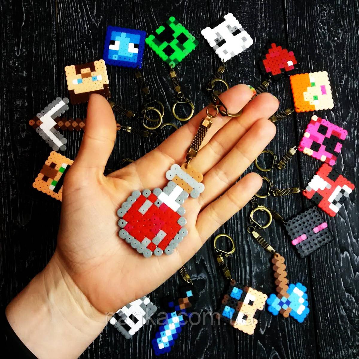 Брелок серия Minecraft, Майнкрафт Бутылочка