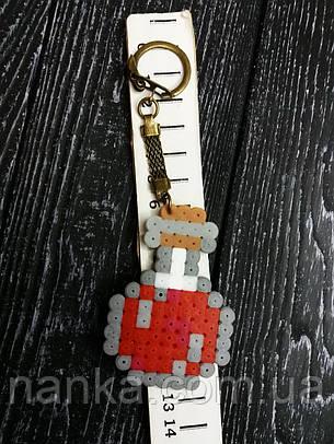 Брелок серия Minecraft, Майнкрафт Бутылочка, фото 2
