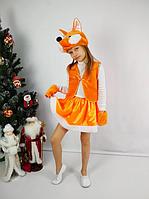 Дитячий карнавальний костюм Лисичка, фото 1