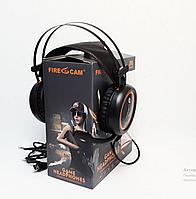 Игровые наушники Fire Cam PUBG с микрофоном и подсветкой