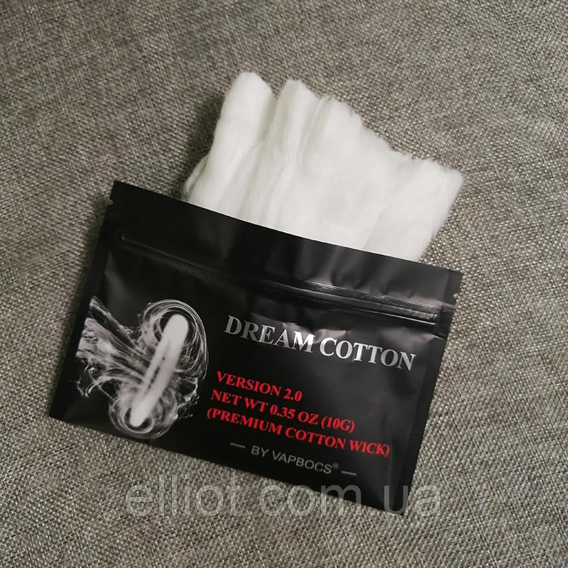 Dream Cotton VAPBOCS Хлопок Вата для вейпа 10g
