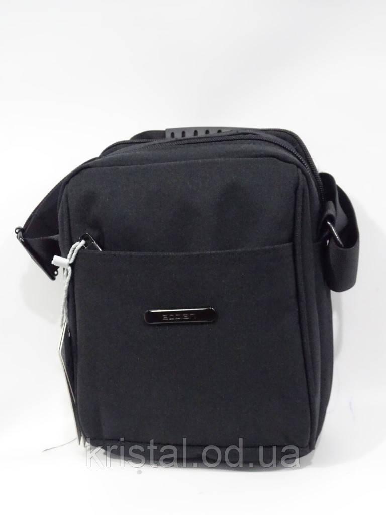 """Мужская текстильная сумка на плечо 16*21 см. серии """"Premium"""" №4991"""