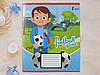 Зошит в косу лінію Лідер 12 аркушів, футбол, фото 2