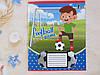 Зошит в косу лінію Лідер 12 аркушів, футбол, фото 3