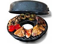 Сковорода гриль для газовой плиты или костра
