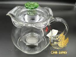 Заварочный чайник из стекла CHI KAO 600 мл.