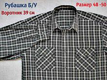 Класична сорочка Б/У. Довгий рукав. 50 розмір. 39 воріт
