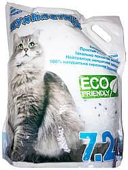 Наповнювач Пухнастики силікагелевий для котів 7,2 л