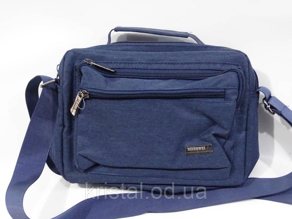 """Чоловіча текстильна сумка на плече 25*20 див. серії """"Premium"""" №5021"""
