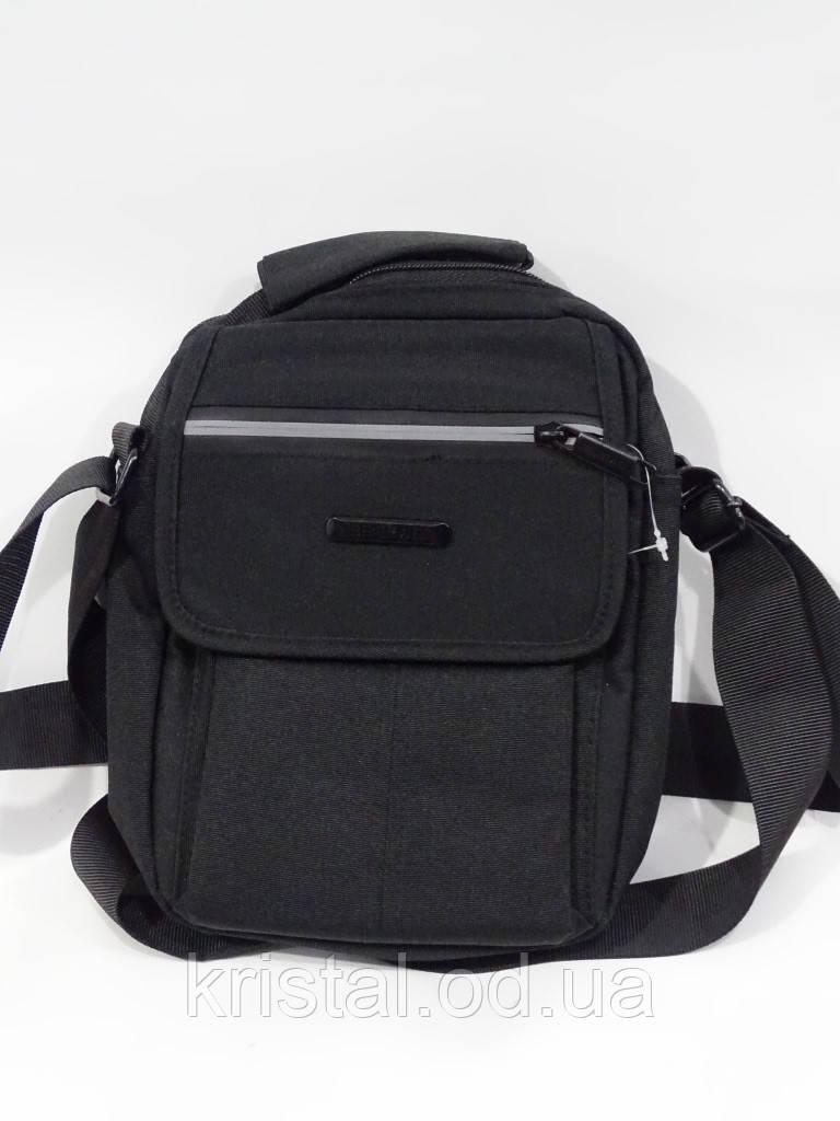"""Чоловіча текстильна сумка на плече 18*22 див. серії """"Premium"""" №5023"""