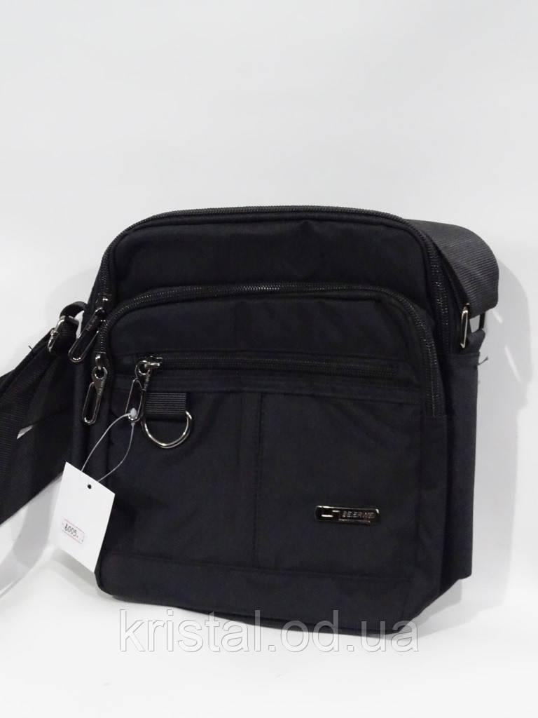 """Чоловіча текстильна сумка на плече 20*23 див. серії """"Premium"""" №5026"""
