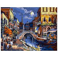 Набір для малювання картини за номерами Нічна Венеція KPN-01-02U
