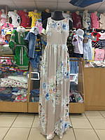 Женский летний сарафан с карманами р. 44 46 48 50