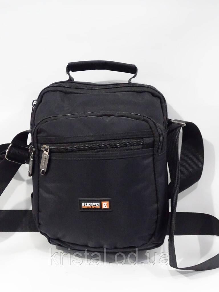 """Чоловіча текстильна сумка на плече 20*24 див. серії """"Premium"""" №5035"""