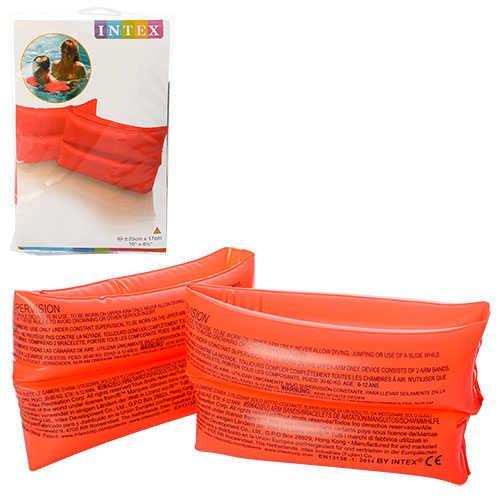 Детские нарукавники Intex 59642 однотонный 6-12лет 25х17см