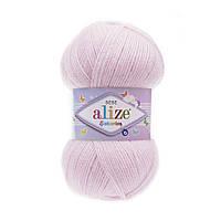Пряжа Alize Sekerim Bebe , цвет 185 детский розовый