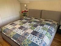 """""""Квадраты"""" Летнее одеяло покрывало двуспальный размер 175/205"""